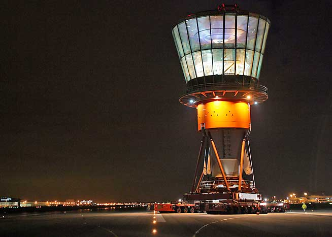 Remote control tower